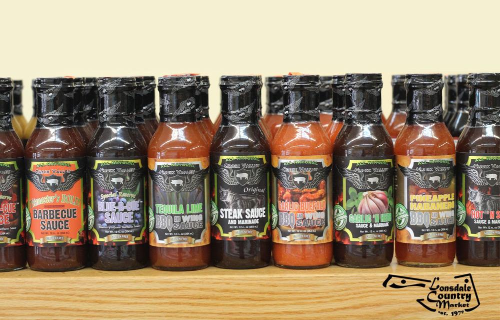 Croix Valley's Award Winning BBQ Sauce