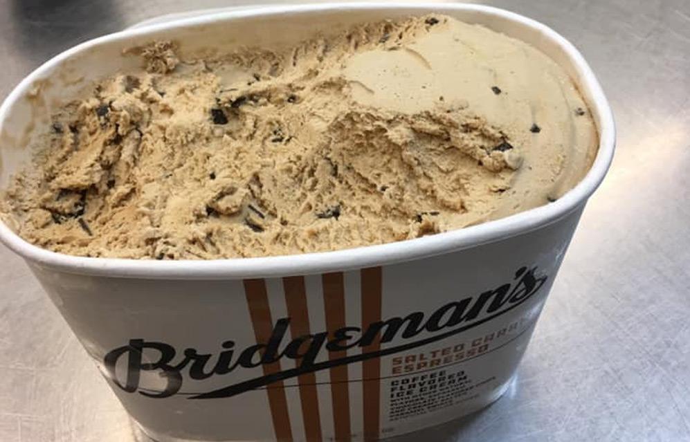 bridgemans's ice cream